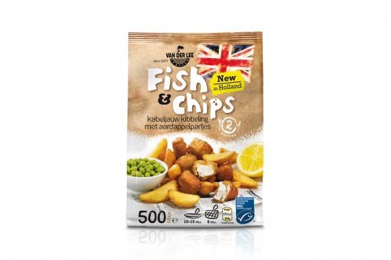 Nuevo producto al por menor Fish & Chips