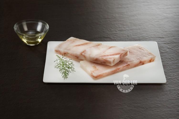 Porciones de filetes de abadejo de Alaska