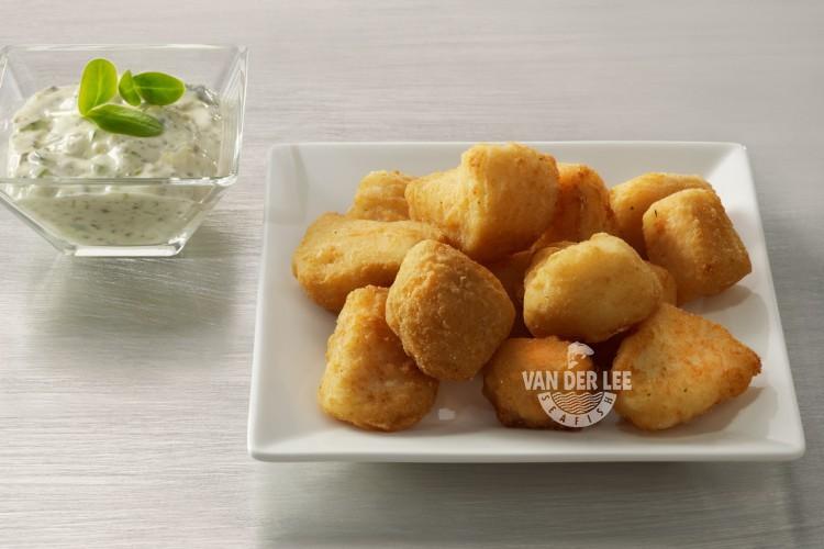 Kibbeling ook bekend als Fish and Chips