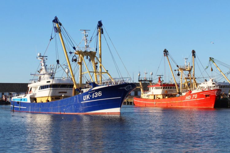 Van der Lee Seafish pone el UK 136 'Drakkar' en servicio