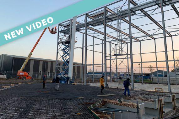 Expansión en la capacidad de producción y almacenamiento debido al crecimiento sostenido