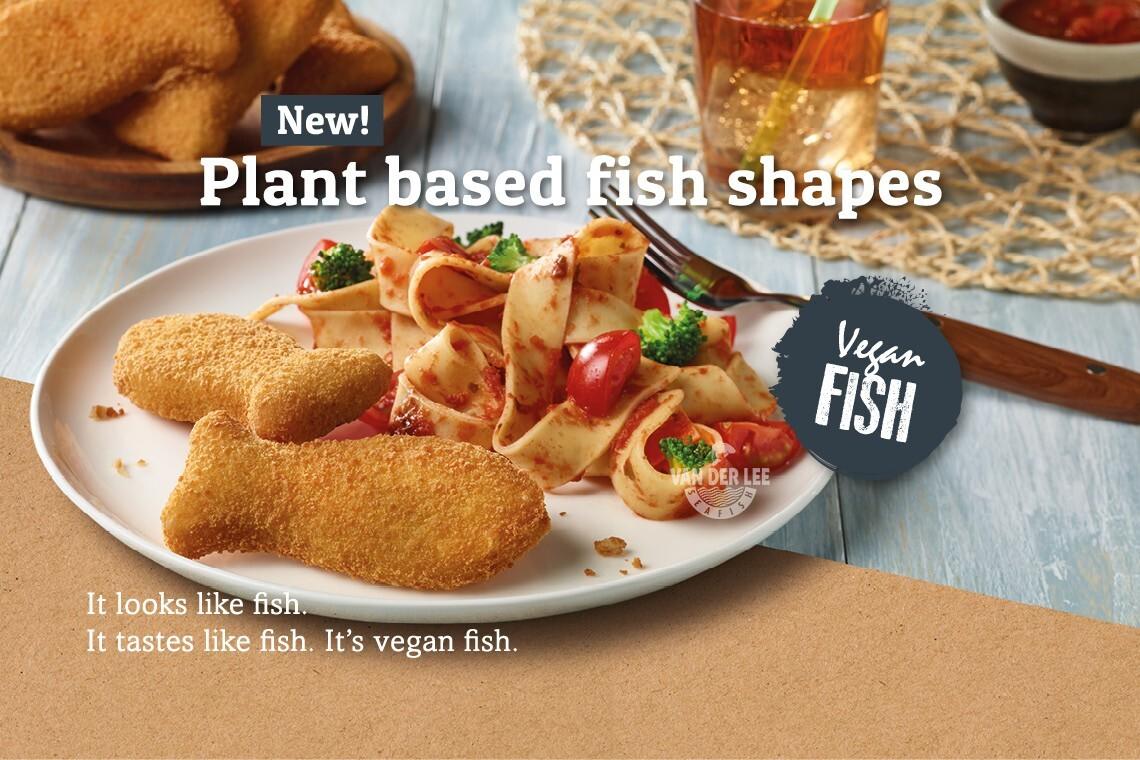 Nuevo en Van der Lee Seafish: PESCADO VEGANO